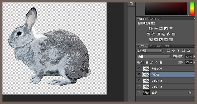Photoshopで写真をイラスト風に加工