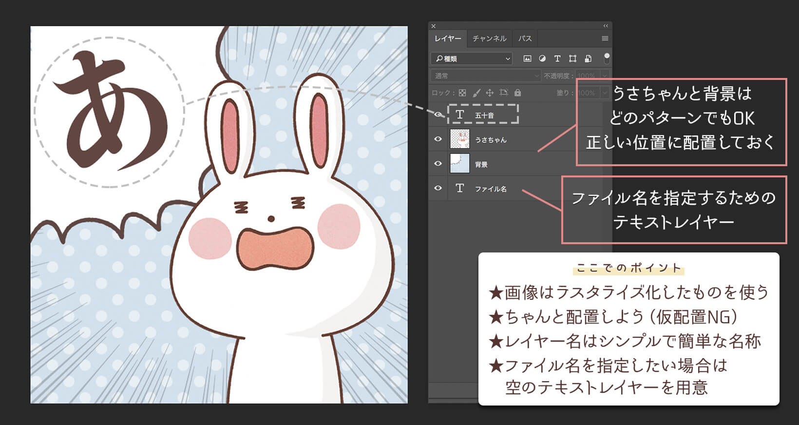 Photoshop CSV データセット 変数 量産 書き出し 効率化 テンプレート